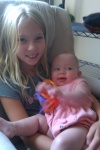 Nora and Ellie -girl cousins!